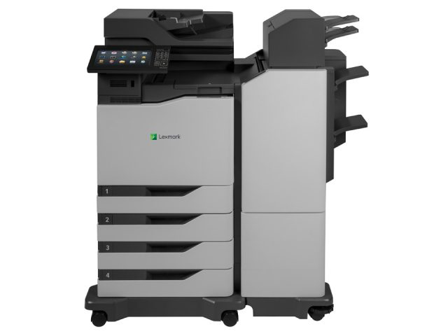 XC8160 with optional additional drawer and tall super finisher_Front
