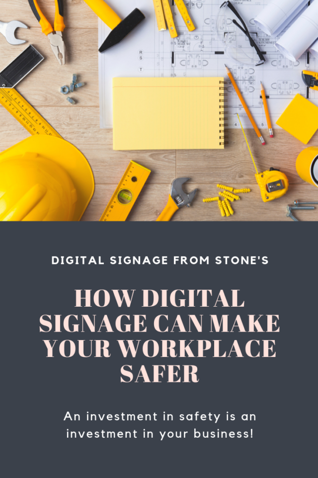 How Digital Signage Can Make Your Workplace Safer
